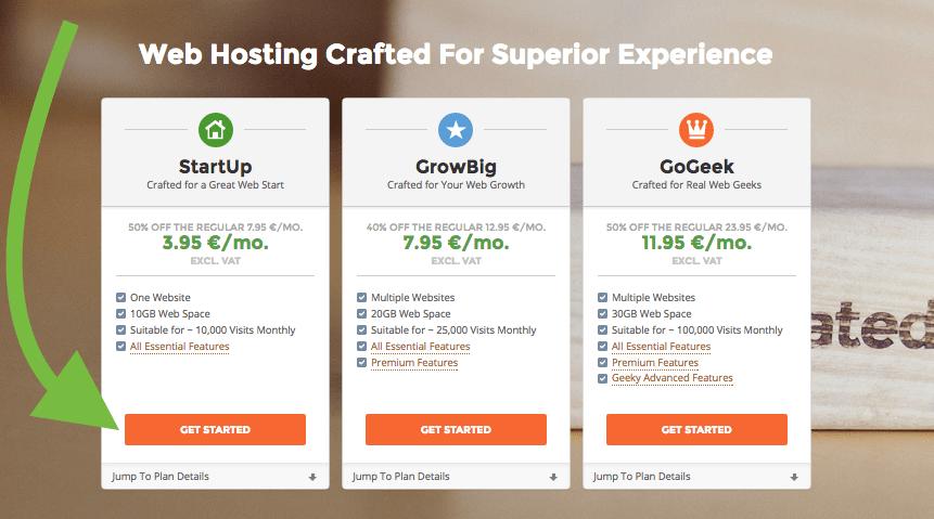 hosting pakket