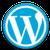 wordpress logo klein
